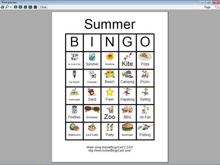 Charmant Bingo Druckbare Vorlage Bilder - Entry Level Resume ...