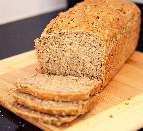 Sprouted Wheat Bread @Maureen Shaw | Orgasmic Chef