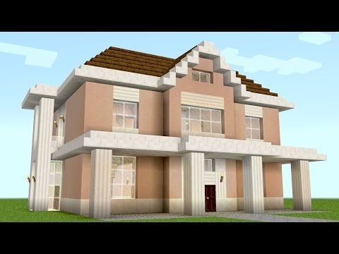 Minecraft: How To Build A Suburban House Tutorial (PS3/4, Xbox, Wii U, Switch, PE, PC) - YouTube