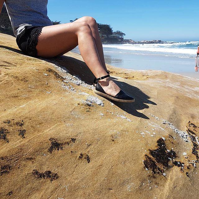 Ryłko Relax 😉😎#rylko #rylkoobuwie #rylkorelax #comfy#espadriles #leathershoes #sandals #ss2017 #newcollection #ryłkowpodróży #beach #beachtime #usatrip #carmelbeach #carmelbythesea #montereylocals - posted by RYŁKO https://www.instagram.com/rylko.obuwie. See more of Carmel By The Sea, CA at http://carmellocals.com