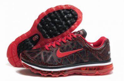 Nike Air Max 2011 Nuevo estilo gris / rojo running http://www.esnikerun.com/