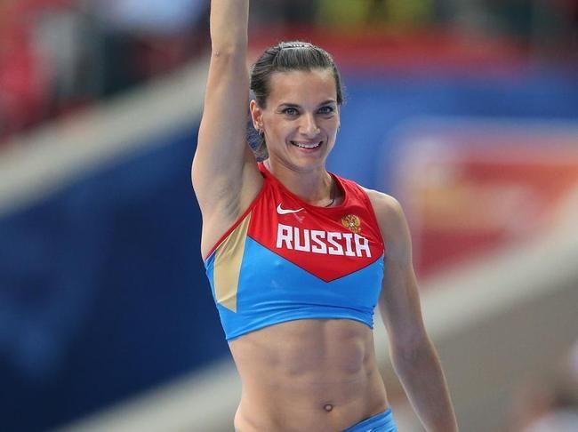 Elena Isinbayeva (saut à la perche)