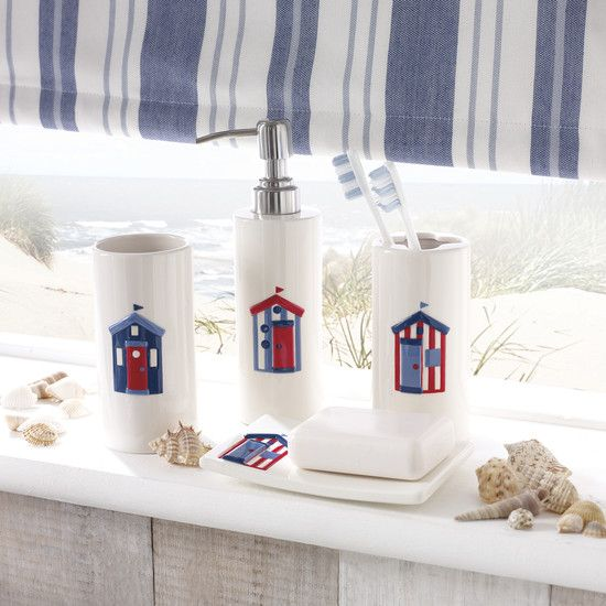 Beach Hut Bathroom Collection | Dunelm
