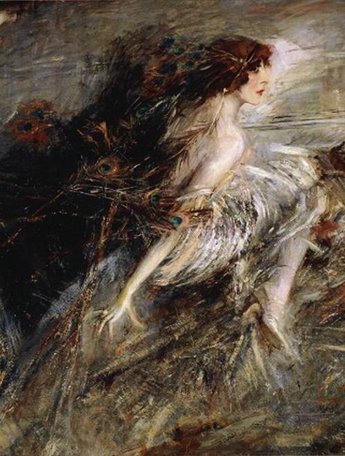 Portrait of the Marchesa Casati Giovanni Boldini 1914
