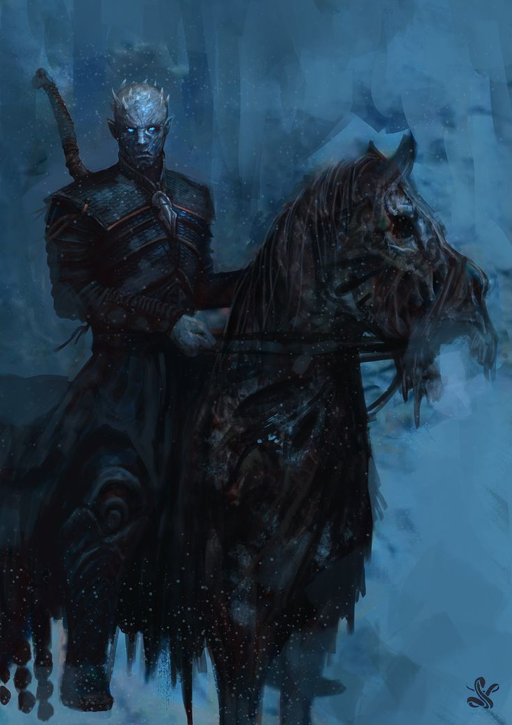 white walker king, Saad Irfan on ArtStation at https://www.artstation.com/artwork/EEz0A