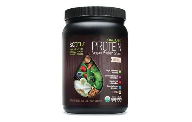 Sotru Organic Vegan Protein Shake https://www.womenshealthmag.com/weight-loss/weight-loss-protein-powders/slide/13