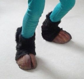 Satyr Costume Craft - Soft Hooves