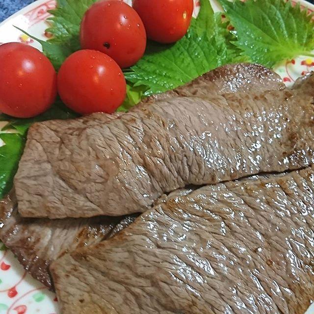実叔父にもらった肉! #肉 #牛肉 #beaf #meat