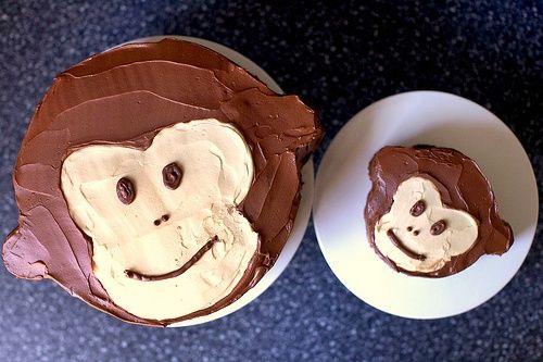 monkey cakes!