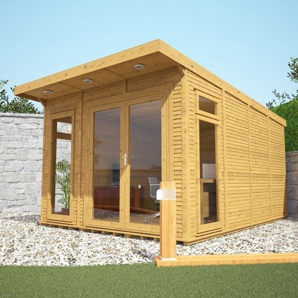avon 3m x 4m insulated garden room httpwwwsheds