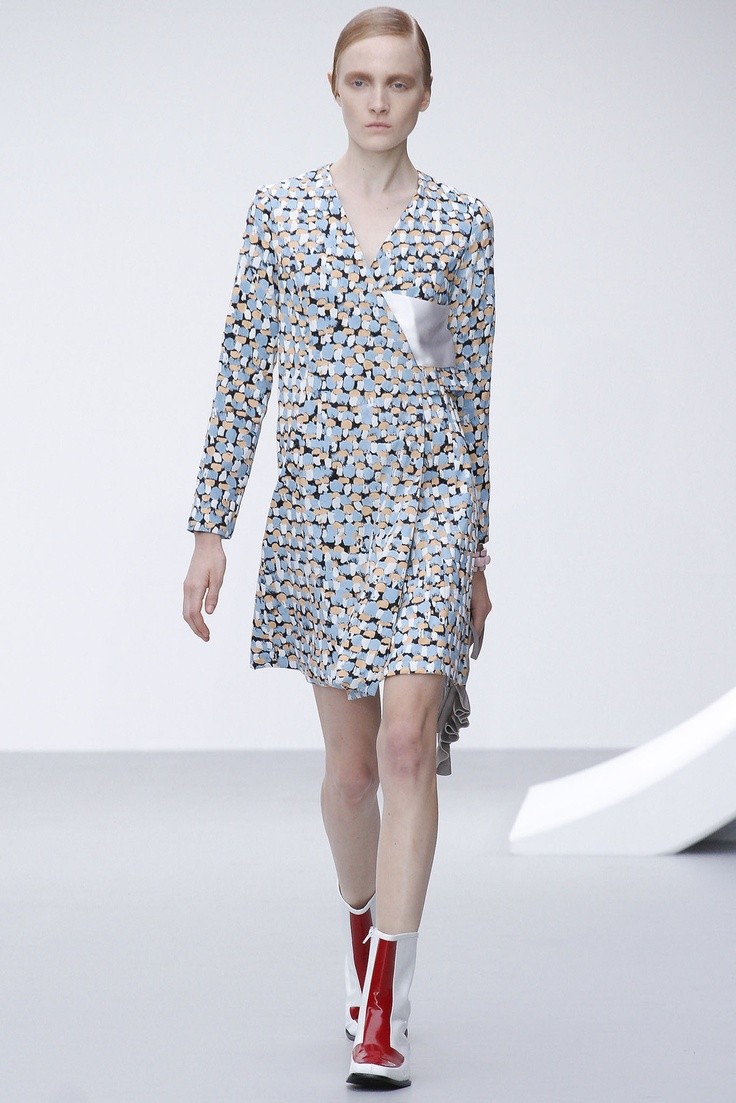 J W Anderson SS13 Womenswear show printed by Insley & Nash