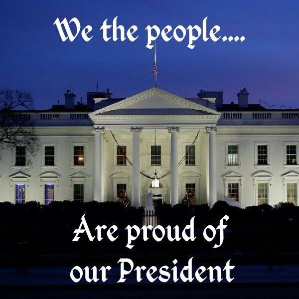I am. He is the first President to work for the people and truly wants to keep his word. Thank you President Trump. M.W.