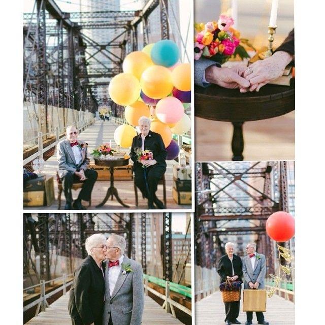 زوجان أميركيان يحتفلان بعيد زواجهما الـ61 بطريقة في غاية الروعة والجمال.