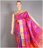 One color saree I don't have!!