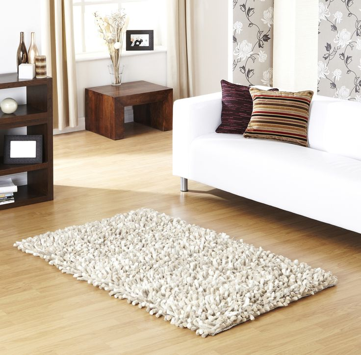 Rocky Ivory Designer Shaggy Rug can be your first love when it comes to home décor. #purewoolrugs #woolrugs #durablerugs #modernrugs #luxuryrugs