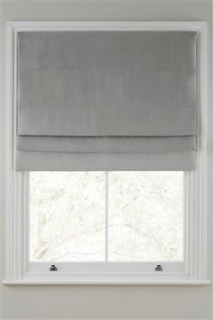 sash window roman blinds on exterior - Google Search