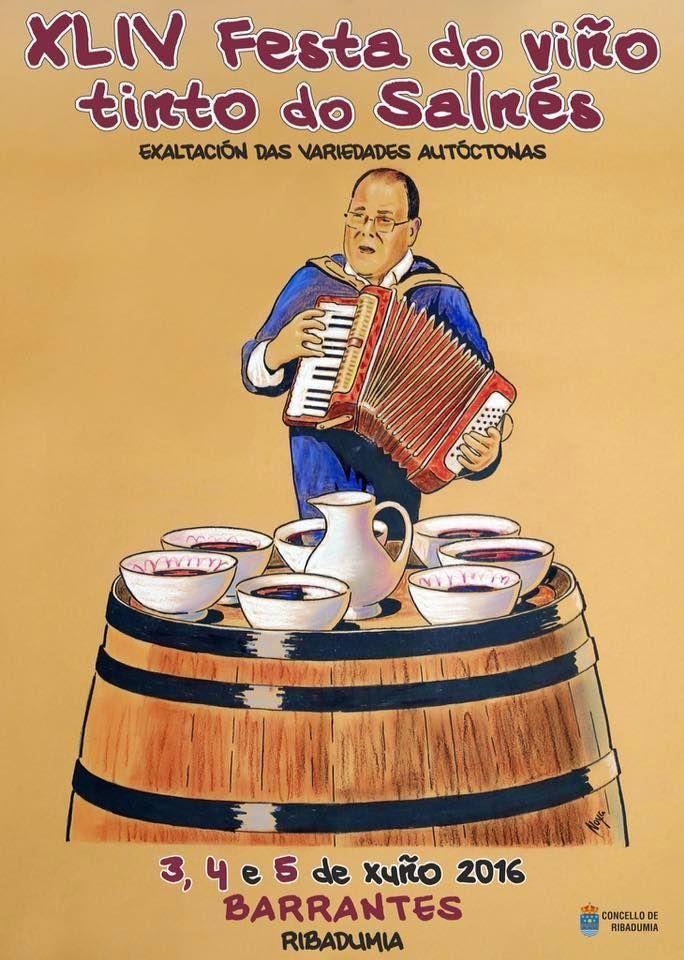 Festa do Viño Tinto do Salnés. Barrantes. Ribadumia. Hotelgranproa.com #Barrantes #Ribadumia #Salnes