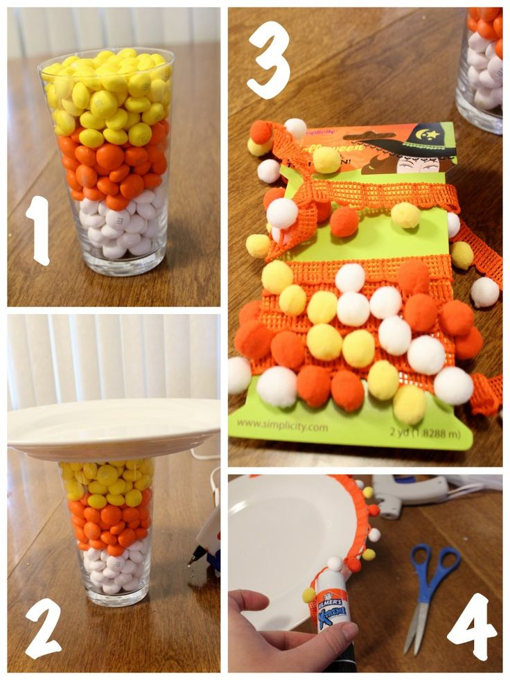 make diy halloween decorations using elmers x treme glue - Halloween Crafts For Adults