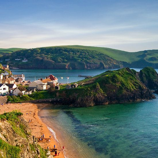 Pretty sure I will need to stay a few months!!!    Hope Cove, Devon, England