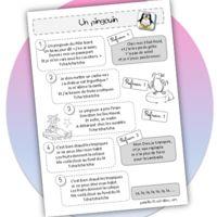 Le pingouin chanson