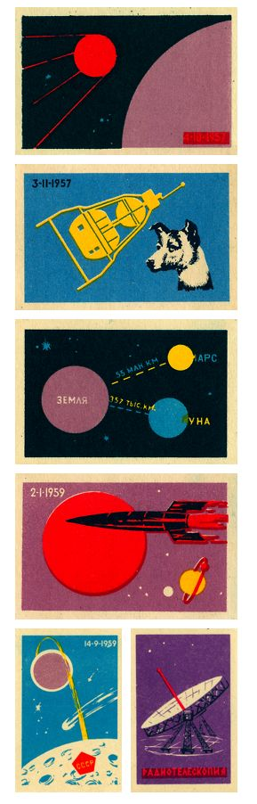 SOVIET MATCHBOXES // #FIRE