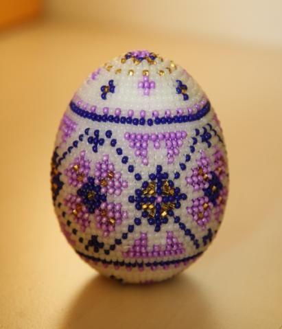 Pysanka Egg   biser.info - minden a gyöngyök és gyöngyös munkák