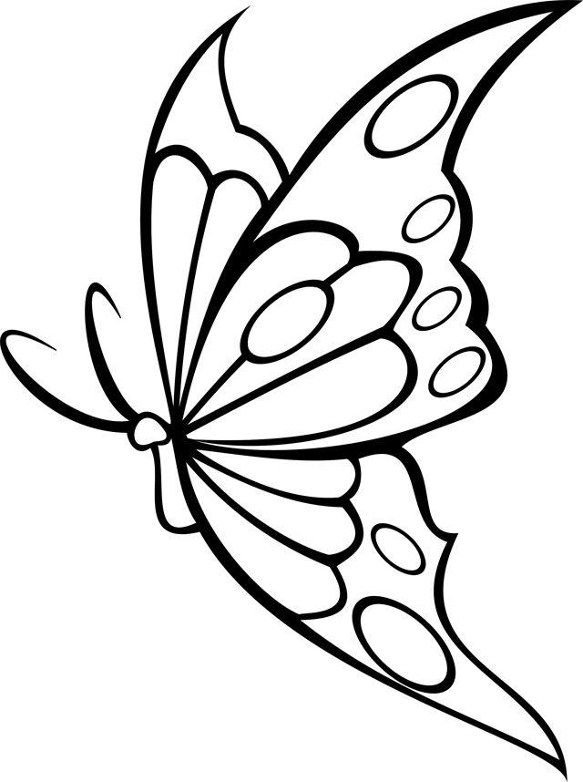 Papillon coloriage recherche google dessins pinterest dessin papillon dessin papillon - Silhouette papillon imprimer ...