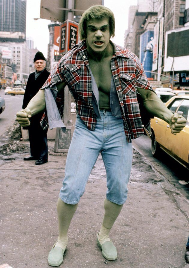 The Incredible Hulk - Lou Ferrigno is amazing! Note: this picture was saved from the web. I do not own this picture.