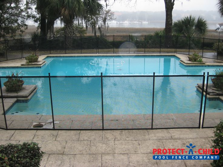 Pool Fence Or Child Safety Fence Backyard Swimming Pool Pool