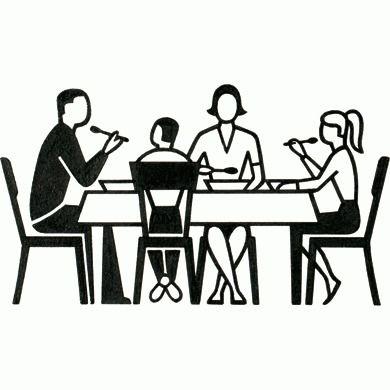 Dinner Table Pictogram - Gerd Arntz Web Archive