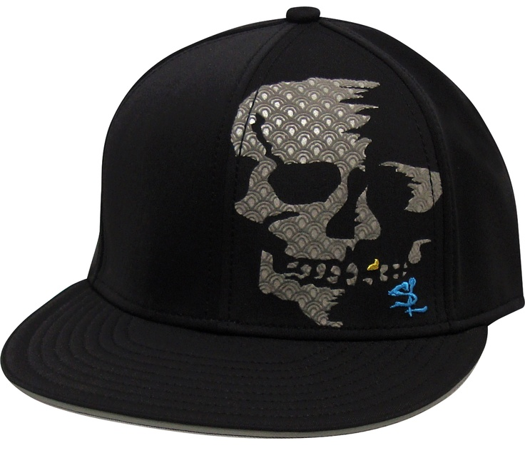 Salt Life Skull Face A-Flex Fit Hat