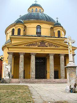Hild József - Esztergom. St. Anna.Church.
