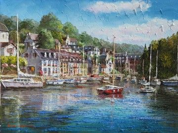 Oil Paintings By E Ron Mediterranean