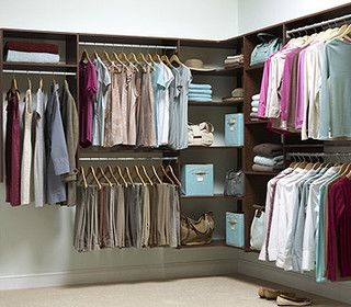 Martha Stewart Closets - modern - closet organizers - Martha Stewart Closets