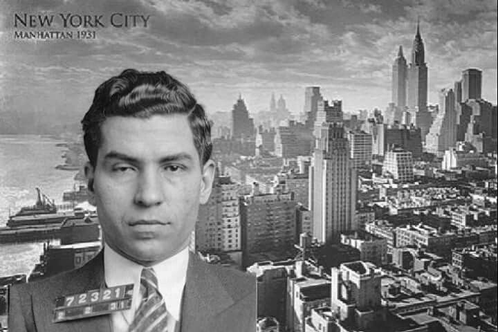 "My 1931 mugshot of Charles ""lucky"" Luciano combined with New York image of the same year also the same Year the commission was set up by the Man Himself, consisted of seven family bosses: the leaders of New York's Five Families: Charlie ""Lucky"" Luciano, Vincent Mangano, Tommy Gagliano, Joseph Bonanno, and Joe Profaci; Chicago Outfit boss Al Capone; and Buffalo family boss Stefano Magaddino, Charlie Luciano was appointed chairman of the Commission. The Commission agreed to hold meetings…"