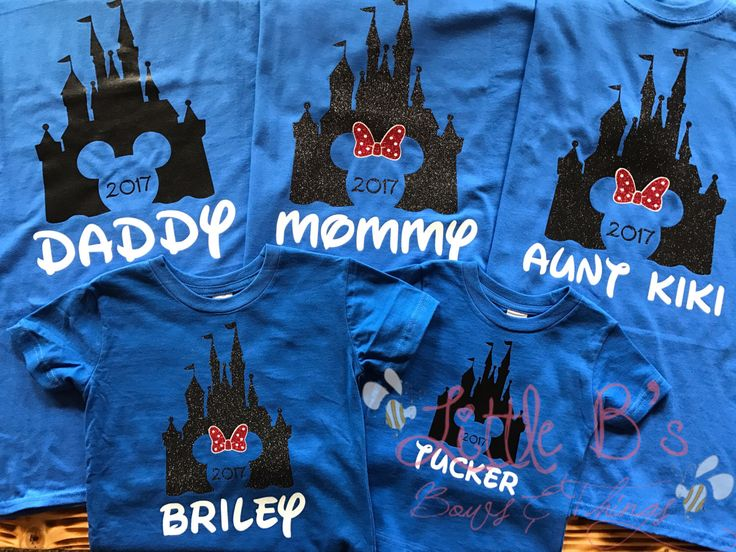 Disney Family shirts | Disney Shirts | Matching Disney Family Shirts | Castle Shirts | Disney World | Disneyland | Mickey Mouse | M by LittleBsBowsNThings on Etsy https://www.etsy.com/listing/504880515/disney-family-shirts-disney-shirts