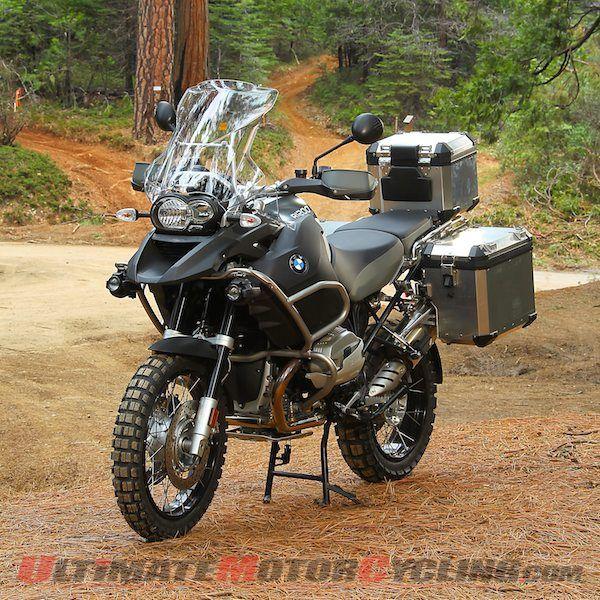 Adventure bike BMW
