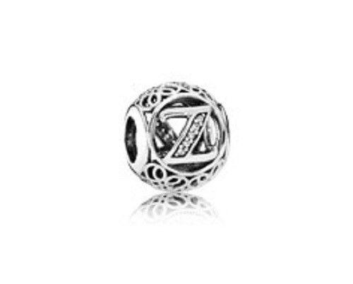 Details About Authentic Pandora Silver 925 791870cz Vintage Z Slide Charm Nwot Pandora Jewelry Pandora Silver Pandora Charms