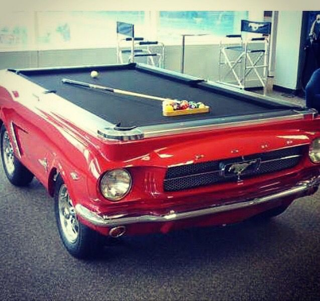 44 Best Images About Car Furniture Pool Tables On