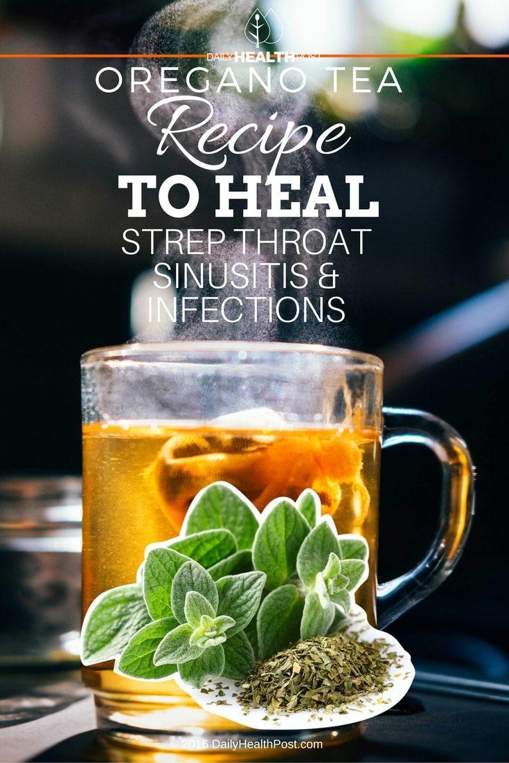 Chinese herbal insomnia tea - Oregano Tea Recept Te Genezen Strep Keel Sinusitis Infecties