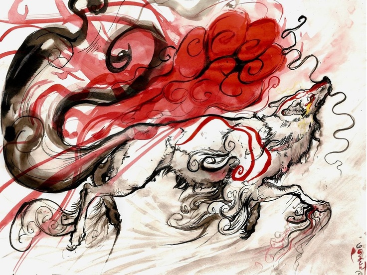 17 Best Images About Okami On Pinterest Art Elements