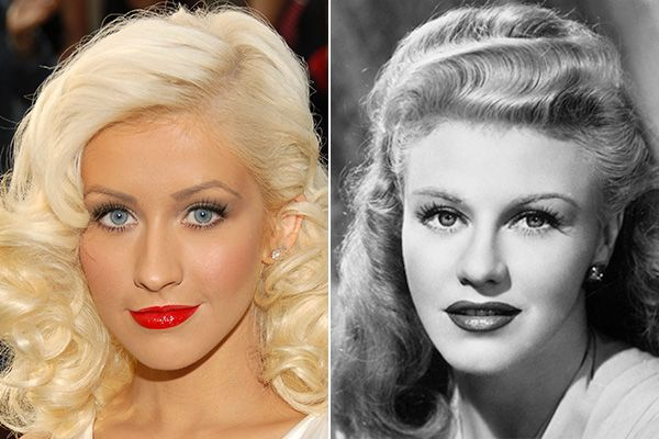 young-stars-golden-age-lookalikes-christina-aguilera-ginger-rogers.jpg (600×400)
