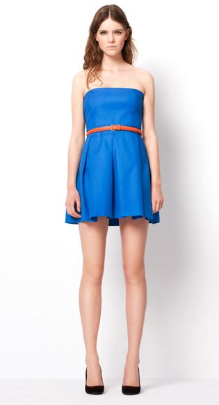 Zara TRF Color Dresses March 2011 Collection Look Book