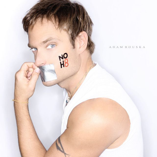 Chad Allen, Openly Gay Actor, for NOH8 Campaign by Adam Bouska