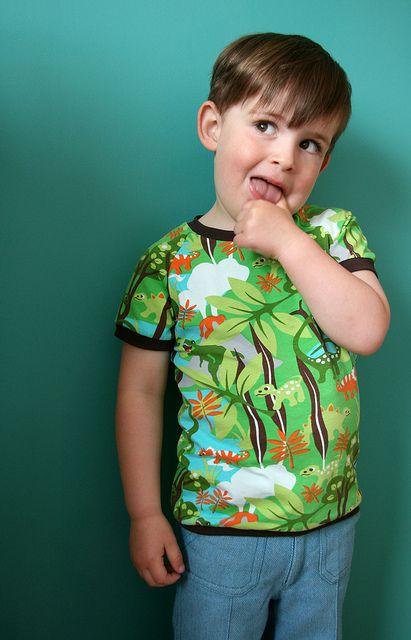 Hoe maak ik deze leuke t-shirt? Hier staat het duidelijk en in het nederlands beschreven!