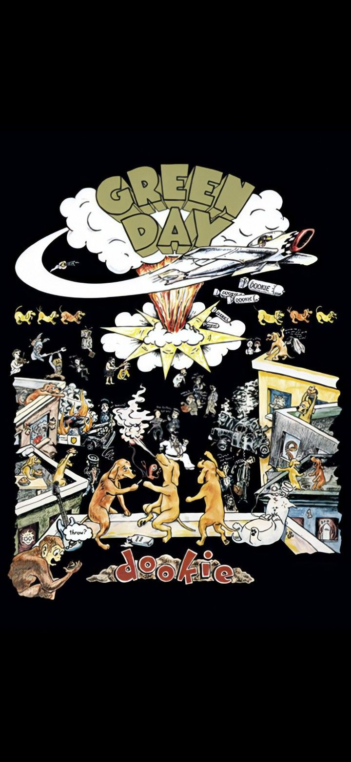 Dookie Era In 2020 Green Day Poster Green Day Dookie Green Day Band