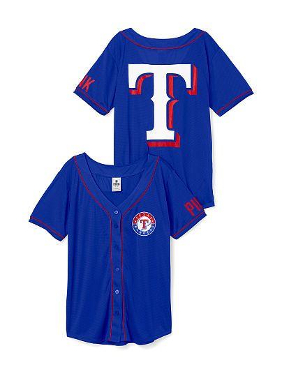 Texas Rangers Mesh Jersey PINK   GOT IT!!  GO RANGERS!