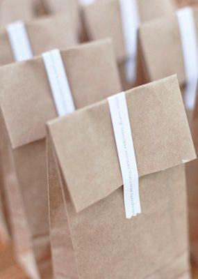 packaging, brown paper bags