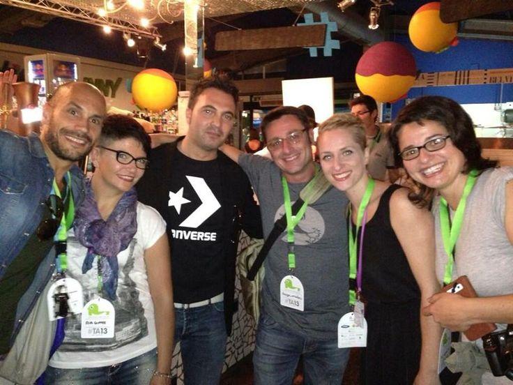 21/09/2013 | #blogfest #TA13 with @Nicola Pearce Pearce Zarri @Salvatore Russo @Diego Avila Avila Orzalesi @Valezza @Michael Dussert Aitken Mati