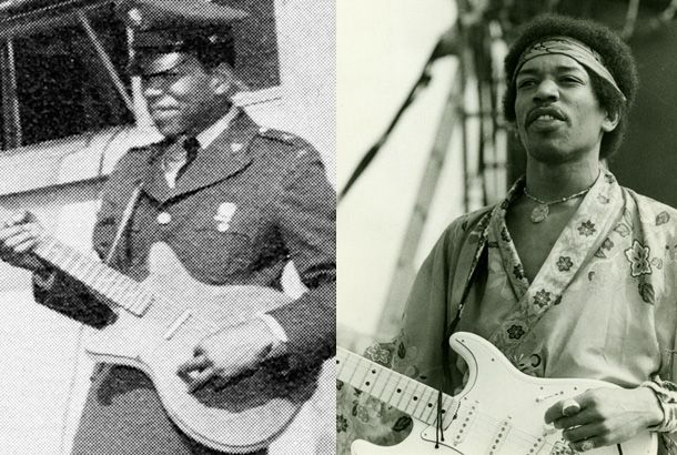 1000+ images about Celebrities in Uniform on Pinterest ...  Jimi Hendrix Army Unit